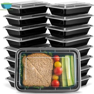 1 compartiment meal prep bakje