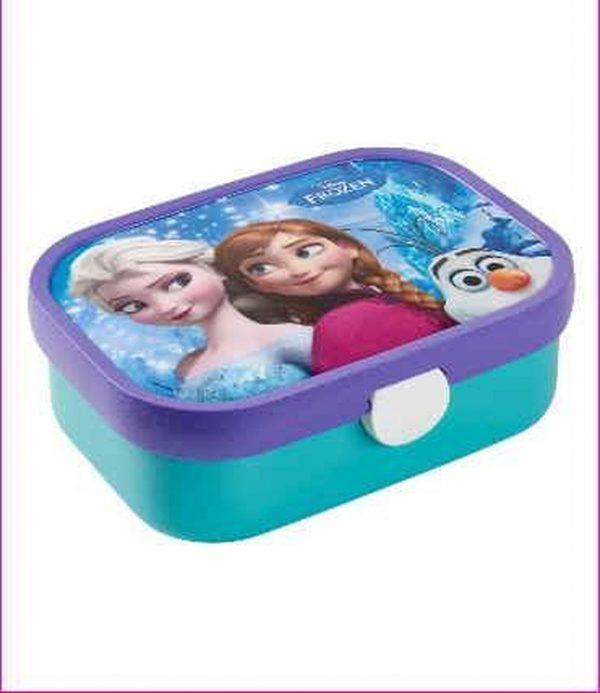 Frozen - Lunchbox - Gevuld met gemengde drop - In cadeauverpakking met gekleurd lint