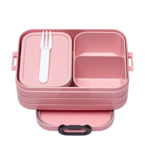 Mepal Bento Lunchbox Take a Break Midi - 0.9 - Nordic Pink