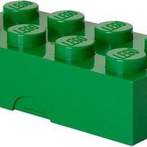 Set van 2 - Lunchbox Classic Brick 8, Groen - LEGO