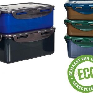 Lock&Lock ECO Vershoudbakjes | Lunchbox | Snackdoosjes - Duurzaam - Zero waste - 100% gerecycled plastic
