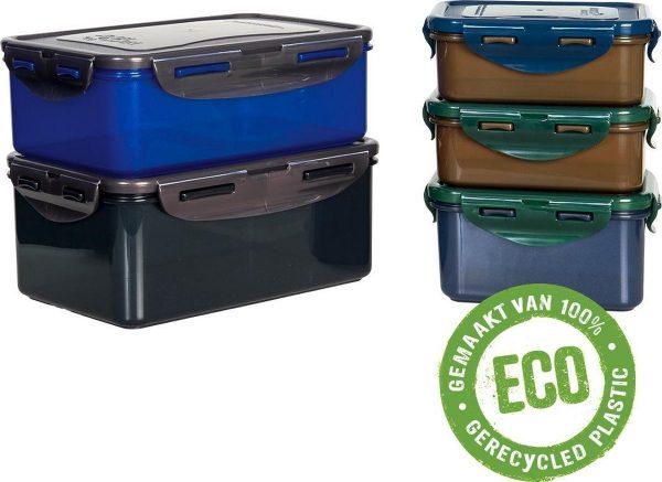 Lock&Lock ECO Vershoudbakjes   Lunchbox   Snackdoosjes - Duurzaam - Zero waste - 100% gerecycled plastic