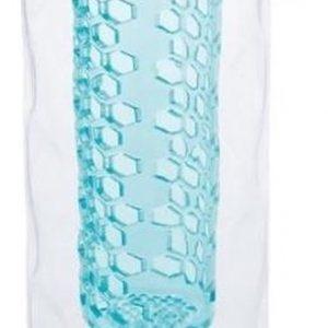 Xd Xclusive Drinkfles Met Honinggraat 700 Ml Siliconen Turquoise
