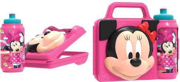 Disney - Minnie Mouse lunchbox set