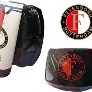 Feyenoord artikelen cadeauset - Lunchbox - Douchegel - Top cadeau - Voordeelbundel