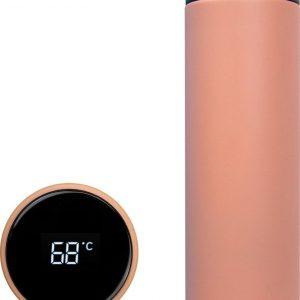 AQUAZIO Drinkfles - Temperatuur LED Display - 500 ML - Roze