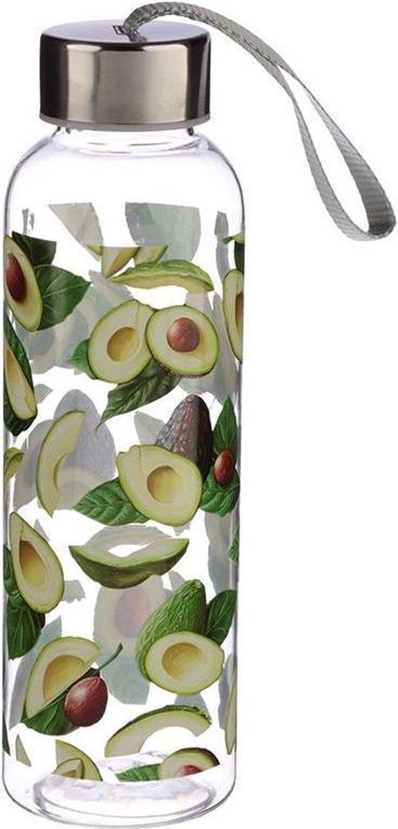 Herbruikbare drinkfles met avocados - Puckator